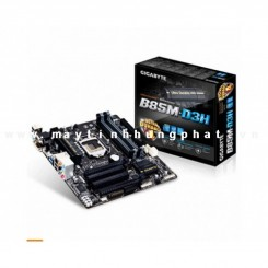 Main Gigabyte GA B85M-D3H Intel B85 chipset (Support Intel SBA) - Socket LGA 1150