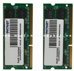 Ram    DDRam III Patriot 4Gb bus 1600MHz for Notebook