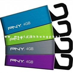 USB PNY 4Gb ATTACHE CLIP ON