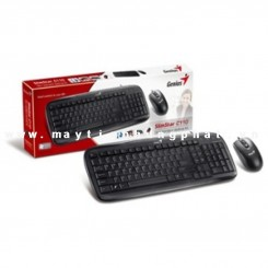 Bộ Keyboard + Mouse Genius K110 (Cổng PS/2)